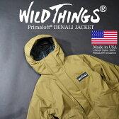 WILDTHINGS (ワイルドシングス) DENALI JACKET デナリ ジャケット WILD THINGS プリマロフト マウンテンパーカー WT001