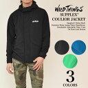 WILDTHINGS (ワイルドシングス) SUPPLEX COULIOR JACKET サープレックスナイロン コーロワール フードジャケット 2016SSモ...