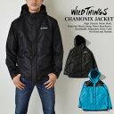 WILDTHINGS ワイルドシングス CHAMONIX JACKET 高密度ナイロン シャモニー フードジャケット WT18203N