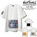 【30%OFFクーポン対象!】WILDTHINGS CLOTH POCKET TEE クロスポケットクイック ドライ ジャージー Tシャツ 男女兼用 アウトドア WT20020PA