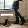 【FABIO RUSCONI】【ファビオルスコーニ】VELOUR/1852/イタリア発ブランドインヒールで美脚度アップのムートンブーツベルト付き/もこもこあったか02P09Jul16