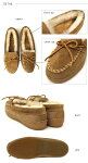 ��MINNETONKA�ڥߥͥȥ󥫡�SheepskinHardsoleMoccasin(�����ץ�����ϡ��ɥ�����)�ܥ��Ǥ̤��̤��⥫���󥷥塼����#3441EMU/UGG/MINNETONKA