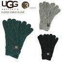 【UGG/アグ】#12050Cable Gloveケーブルグローブ/ニット/毛糸フリーサイズ/プレゼントにもおススメですブラック/冬用小物/手袋02P03Dec16