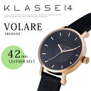 楽天RAYMART-レイマート-[安心正規]◆人気スタイル!【KLASSE14】クラス14フォーティーン # VOLARE 42mm LEATHER BELT腕時計!RG005M/ペアウォッチ・プレゼント/ギフトにレザーベルト/レディース/腕時計/メンズ