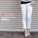 AG jeans【エージージーンズ】OSD1333//STILT ROLL UP 抜群のフィット感!美脚度◎ホワイトスキニーデニム★伸縮性のある素材で気になるヒップや太ももをカバー◎美脚ストレートクロップデニム!BIG STAR/JET/JBRAND/SIWY好きにオススメ♪