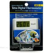 テトラ デジタル水温計 ホワイト WD-1【在庫有り】-【特売】(人気商品)