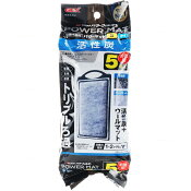 GEX 簡単ラクラクフィルター 交換ろ過材SM-6P (新パッケージ青) 超お徳用6個パック 【在庫あり】【特売】(人気商品)