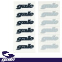 GALE ステッカー 6枚SET カラーBLACK/SILVER 【ゲール サーフ】【メール便対応】715005