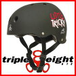 トリプルエイト ヘルメット リトルトリッキー ジュニア用 TRIPLE8 HELMET LITTLE TRICKY カラー ブラック
