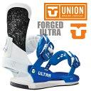 UNION BINDING FORGED-ULTRA カラー BLUE/WHITE 【ユニオン ウルトラ】【スノーボード バインディング】【日本正規品】【送料無料】 align=