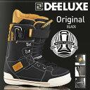 16-17 モデル DEELUXE ORIGINAL オリジナル BLACK ブラック 【ディーラックス オリジナル】【16-17 スノーボード ブーツ】【送料無料】..