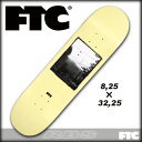 FTC スケートデッキ FTC ROLLIN IN TEAM DECKサイズ 8.25 x 32.25 【スケートボード デッキ 】【日本正規品】【あす楽】715005