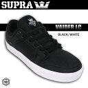 SUPRA VAIDER LC BLACK-WHITE 【スープラ スニーカー 靴】【ベイダー】【日本正規品】【あす楽】715005