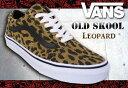 VANS オールドスクール OLD SKOOL LEOPARD SUEDE DARK KHAKI 【バンズ シューズ スニーカー 靴】【日本正規品】【あす楽】715005