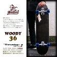 WOODY PRESS 36インチ カラー BLACK 【ウッディプレス】【ロング スケートボード】【日本正規品 サーフ スケート】【サーフィン オフトレ】【あす楽 送料無料】715005
