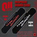 BLACK×RED BLACK×WHITE ネオプレーン スノーボード