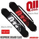 011 Artistic NEOPRENE BOARD CASE BLACK×RED BLACK×WHITE ネオプレーン ボードケース スノーボード ソールカバー 18-19 日本正規品
