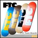 FTC スケート デッキ FTC TEAM BOARDS サイズ 7.75/8.0/8.25/8.5 【スケートボード デッキ 】【日本正規品】【あす楽】715005