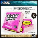 水上活動 - STICKY GUM 【TROPICAL】【サーフィン ワックス】【日本正規品】