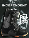 13-14 NEW モデル ★販売開始★ DEELUXE INDEPENDENT BLACK 【ディーラックス インディペンデント 】【13-14 スノーボード ブーツ】【送料無料】