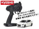 !【KYOSHO/京商】 32422WP 1/27 電動RC ミニッツFWDシリーズ レディセット マツダ デミオ XDツーリング スノーフレイクホワイトパールマイカ レディセット