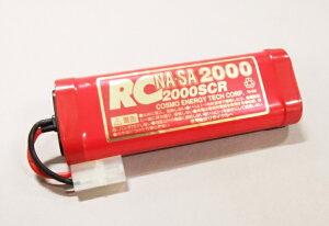 CH04【コスモエナジー/COSMO ENERGY】7.2V NA・SA 2000SCR ニッカドバッテリー(タミヤコネクター)