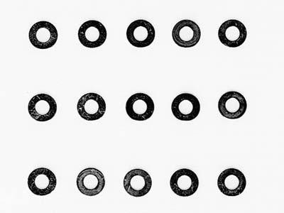 50586 【タミヤ】RCスペアパーツ SP586 3mmワッシャー 15個