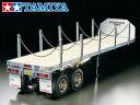 !【TAMIYA/タミヤ】 56306 1/14 RC トレーラートラック用 フラットベッド セミトレーラー 組立キット チャンプオリジナル:フルボールベアリング(未組立)