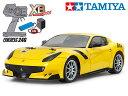 !【タミヤ】 57902 XB フェラーリ F12tdf(TT-02シャーシ)(完成済みフルセット)