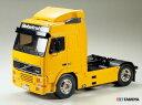 !【TAMIYA/タミヤ】 56312 1/14 電動RC ビッグトラック トレーラーヘッド ボルボ FH12 グローブトロッター 420 組立キット(未組立) ≪ラジコン≫