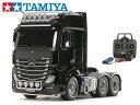 !【TAMIYA/タミヤ】 56347 1/14 電動RC ビッグトラック メルセデス・ベンツ アクトロス 3363 6×4 フルオペレーションセット(未組立) ≪ラジコン≫