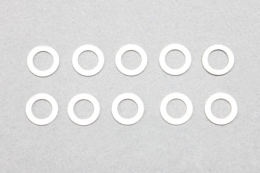 ZC-S330 【YOKOMO/ヨコモ】 φ3.1xφ5.0x0.30mm ステンレス製シム 10枚入