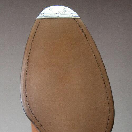 紳士靴修理つま先ヴィンテージスチール
