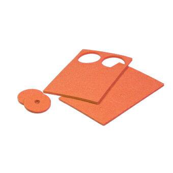 【ネコポス対応】イーグル(EAGLE)/3528-OR/カラフル・ボディクッションリング・12枚入[OR] ラジコン/ボディ/保護
