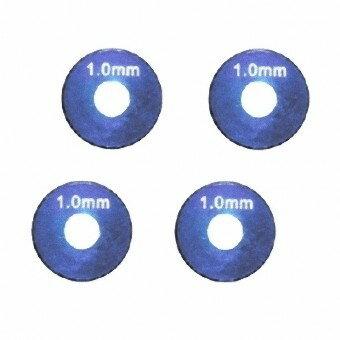 【ネコポス対応】イーグル(EAGLE)/2981/AL ホイルスペーサー 1.0mm (4pcs) ブルー