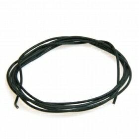 【ネコポス対応】イーグル(EAGLE)/シリコン銀コード・20G[ゲ-ジ](黒120cm)