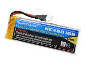 【ネコポス対応】ハイテック(HiTEC)/NE480166/LiPoバッテリ 3.7V 400mAH(Revo.ブラシレス専用)