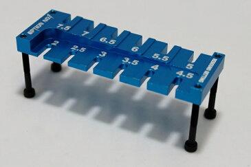 【あす楽】【ネコポス対応】OPTION No.1(オプションNo.1)/NO-130TB/ダンパーリバウンドセッティングツール タミヤブルー