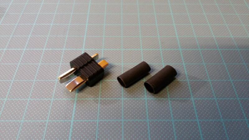 【ネコポス対応】スナイパー(SNIPER)/SS-0008_SS-0009/T型 2ピンコネクター 滑り止め仕様 ブラック