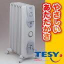 ヨーロッパで製造実績No.1!空気を汚さないから安心快適。TESYテシー オイルヒーター LB1208E03TR【送料無料】 (代引き不可)【P1211】【P1217】【期間限定 ポイント10倍】
