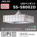 アグレッド LEDペンダント SS-58002D【ポイント10倍】