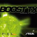 STIGAスティガ 卓球ラケット用ラバー ブーストTX 赤特厚(代引き不可)【ポイント10倍】