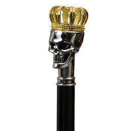 サンコー 王冠付ドクロアンブレラ CRWSKLLU【ポイント10倍】 【ポイント10倍】ユニーク・アンブレラシリーズからドクロデザインの傘が登場【適用されました】