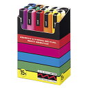 三菱鉛筆 ポスカ 中字 15色 1 個 PC5M15C 文房具 オフィス 用品【ポイント10倍】