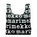 マリメッコ marimekko トートバッグ 41395 MARILOGO BLACK/WHITE BK/WT【ポイント10倍】【楽ギフ_包装】