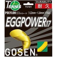 GOSEN(ゴーセン) エッグパワー17 イエロー TS101Y【ポイント10倍】の画像