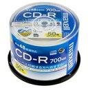 日立マクセル(HITACHI) CD-R <700MB> CDR700S.WP.50SP 50枚【ポイント10倍】
