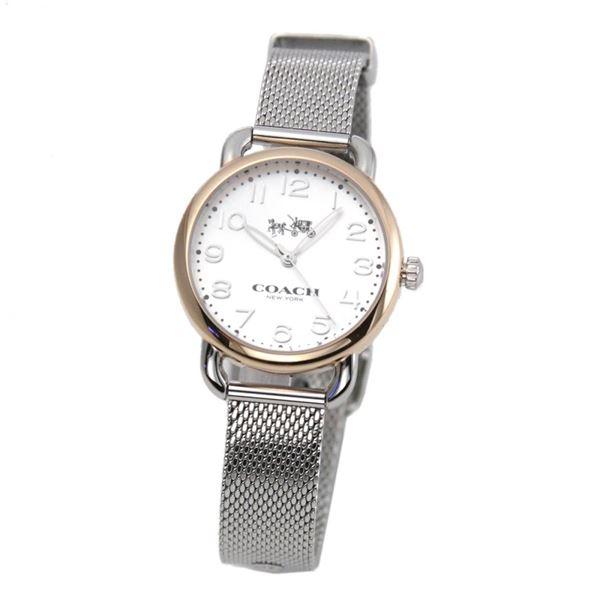 COACH(コーチ) 14502424 レディース 腕時計 デランシー ツー トーン メッシュ ブレスレット ミニ【】【ポイント10倍】