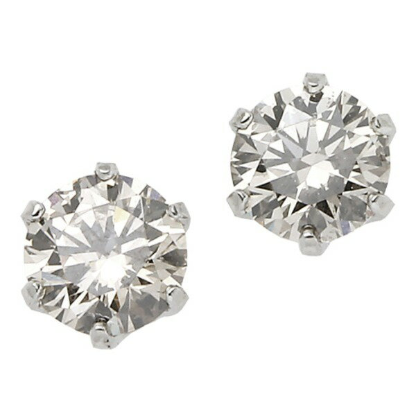 プラチナPT900 天然ダイヤモンドピアス 0.1CT【ポイント10倍】 【ポイント10倍】天然のダイヤモンドは厳選した素材と輝き