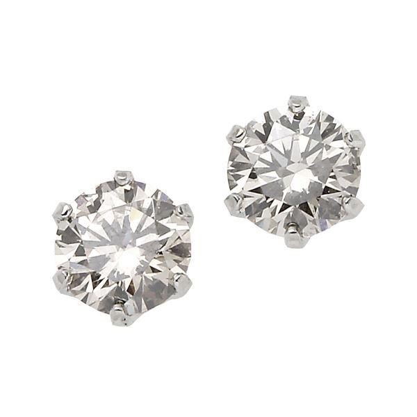 プラチナPT900 天然ダイヤモンドピアス 0.3CT【ポイント10倍】 【ポイント10倍】天然のダイヤモンドは厳選した素材と輝き